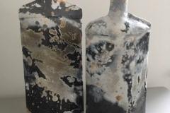 PAPER CLAY SAGAR FIRED BOTTLES 31CM £110 EACH