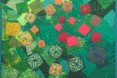 Kate-Davis-Tumbling-Tiles-Red-to-Green
