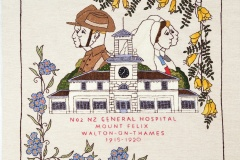 Panel 1 - No. 2 New Zealand General Hospital, Walton on Thames (1915-1920)
