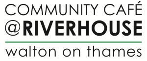 community cafe at riverhouse at walton on thames logo